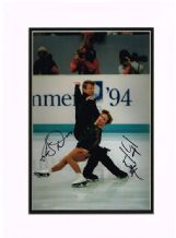Jayne Torvill & Christopher Dean Autograph Signed Photo